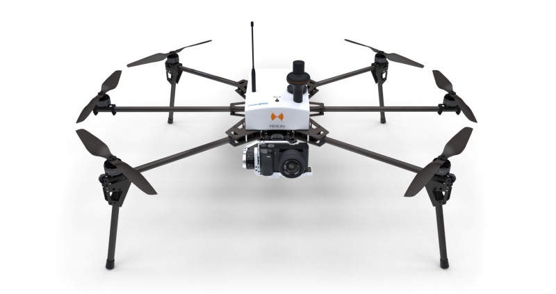 Heliceo - Fox6 multirotor drone for topography