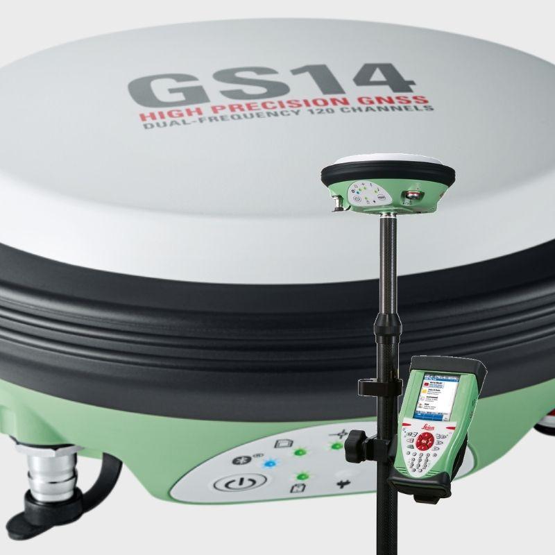 Ενοικίαση δέκτη GNSS - LEICA GS14